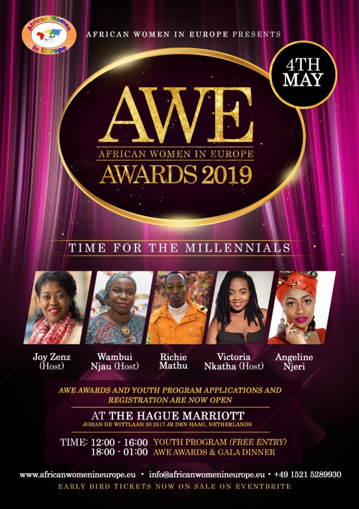 Official AWE Awards 2019 & Time for the mellinnials