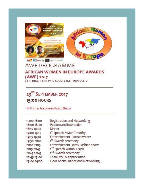 AWE Award Programme-2017