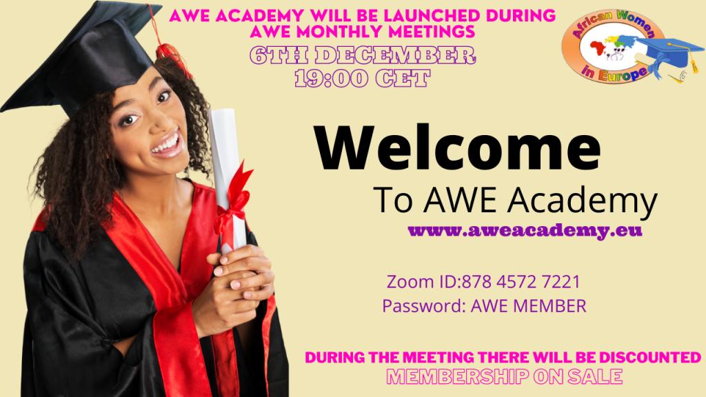Launch AWE ACADEMY